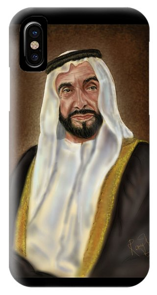 Year Of Zayed Portrait Release 2018 Phone Case by Remy Francis