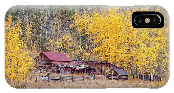 Yearning For The Tranquility Of A Rustic Milieu  IPhone Case