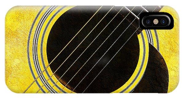 Yellow 2 Guitar IPhone Case