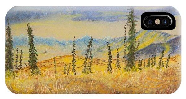 Yellow Alaska IPhone Case