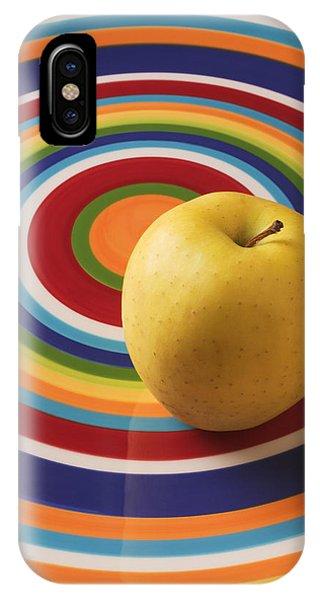 Yellow Apple  IPhone Case