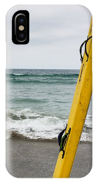 Yellow Surfboard IPhone Case
