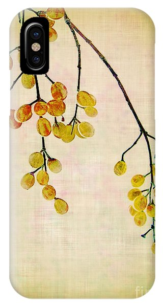 Yellow Berries IPhone Case
