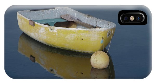 Yellow Rowboat IPhone Case