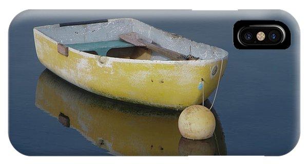 Yellow Rowboat IPhone Case