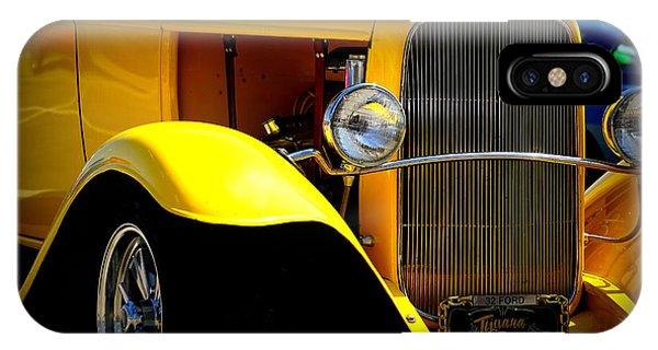 Yellow Boy IPhone Case