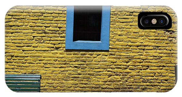 Yellow Brick Window IPhone Case