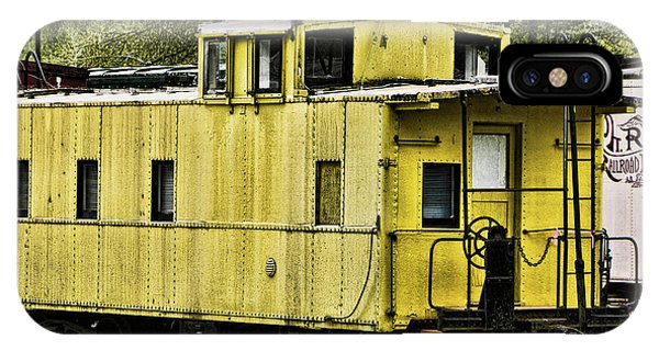 Yellow Caboose IPhone Case