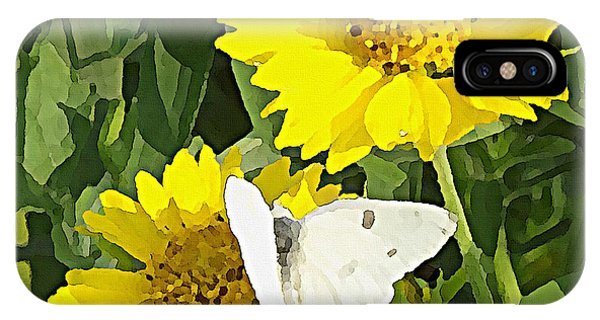 Yellow Cow Pen Daisies IPhone Case