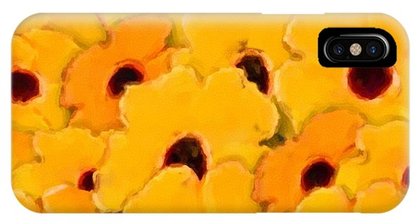 Yellow Daisy Flowers IPhone Case