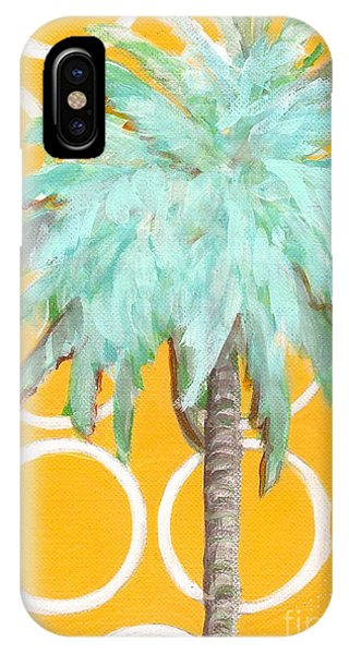 Yellow Delilah Palm IPhone Case