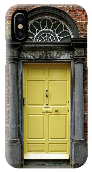 Yellow Door IPhone Case