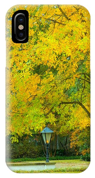 Yellow Drapes IPhone Case