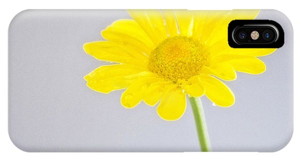 Yellow Drops IPhone Case