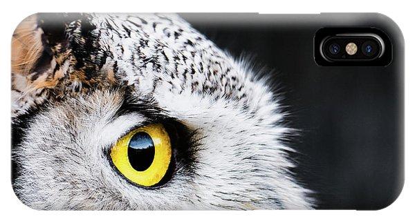 Yellow Eye IPhone Case