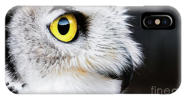 Yellow Eye IPhone Case