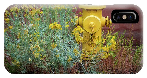 Yellow Fire Hydrant IPhone Case