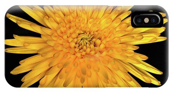 Yellow Flower Macro IPhone Case