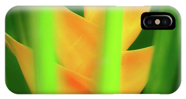 Yellow Heliconia - Tropical Hawaii - 957 IPhone Case