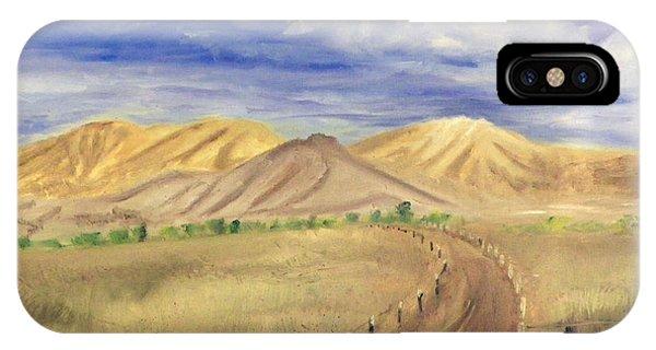 Yellow Hills Of Jensen IPhone Case