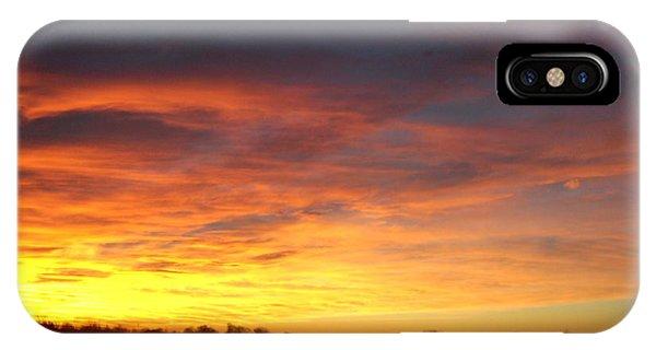 Yellow Horizon IPhone Case