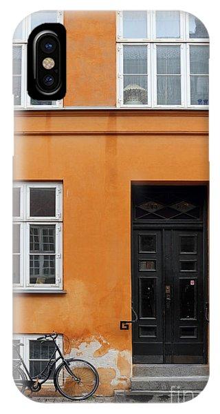 The Orange House Copenhagen Denmark IPhone Case