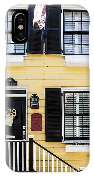 Yellow House IPhone Case