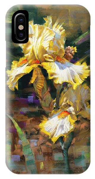 Yellow Iris II IPhone Case