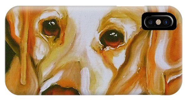 Yellow Lab Amazing Grace IPhone Case