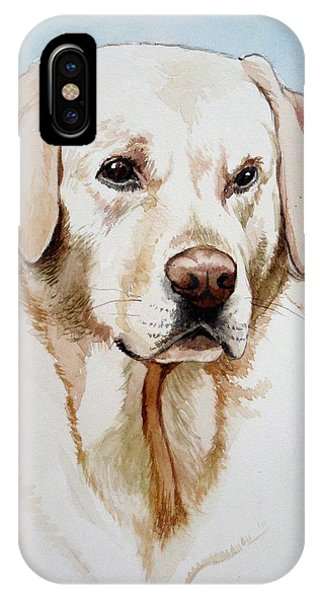 Yellow Lab IPhone Case