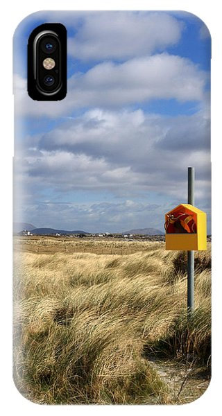 Yellow Life Saver Phone Case by Pierre Leclerc Photography