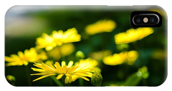 Yellow Moment IPhone Case