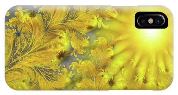 Yellow Morning IPhone Case
