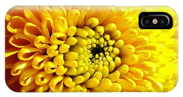 Yellow Mum IPhone Case