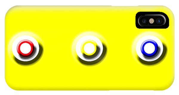 Yellow Nine Squared IPhone Case