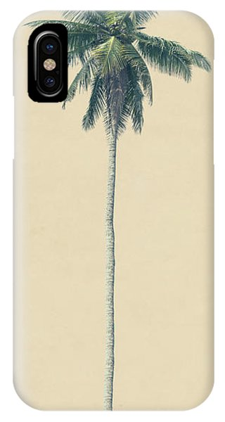 iPhone Case - Yellow Palm by Andrew Paranavitana