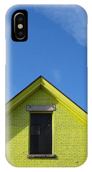 Yellow Peak IPhone Case