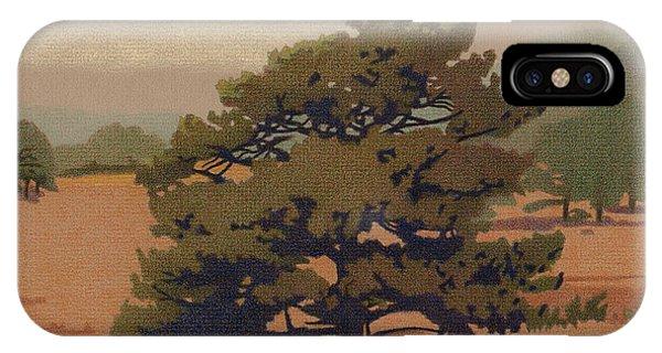 Yellow Pine IPhone Case