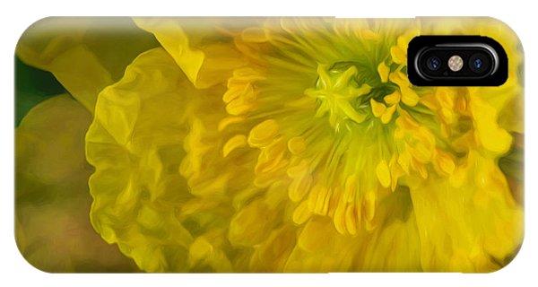 Poppies iPhone Case - Yellow Poppy by Veikko Suikkanen