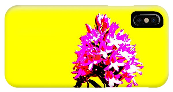 Yellow Pyramid Orchid IPhone Case