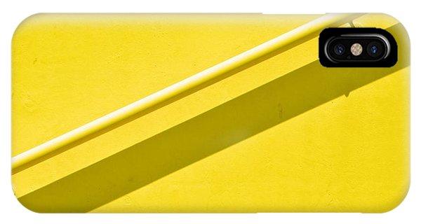 Yellow Rail IPhone Case