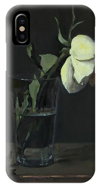 Yellow Rose No. 3 IPhone Case