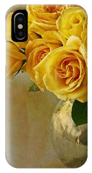 Yellow Rose Of... IPhone Case