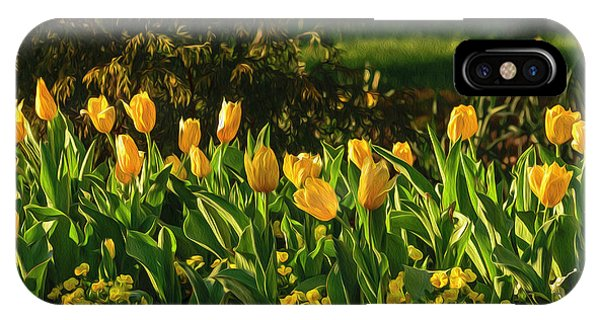 Yellow Spring Fever IPhone Case