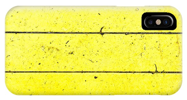 Cement iPhone Case - Yellow Stone by Tom Gowanlock