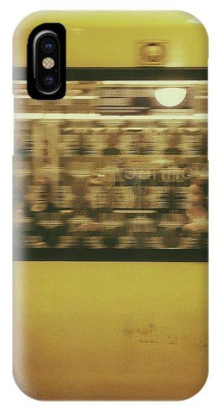 Yellow Subway Train IPhone Case