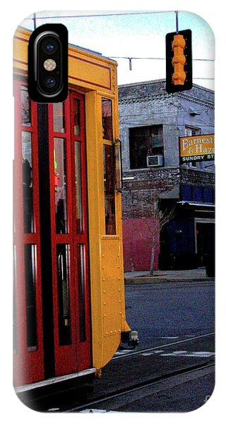 Yellow Trolley At Earnestine And Hazels IPhone Case