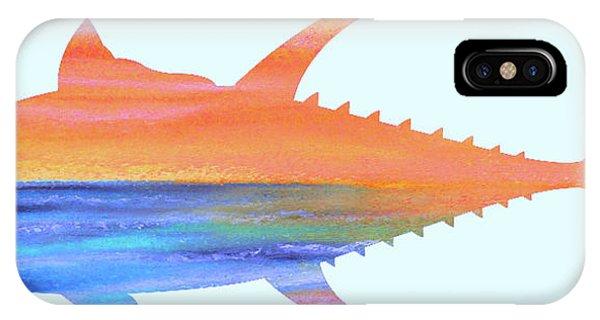 Yellowfin Sunset Beach IPhone Case