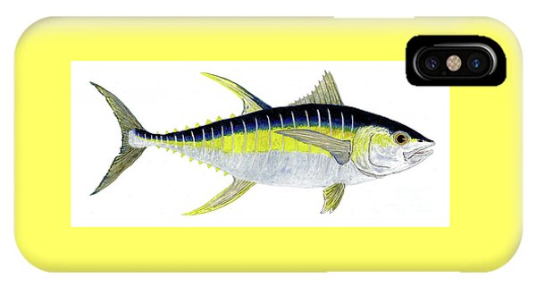 Yellowfin Tuna IPhone Case