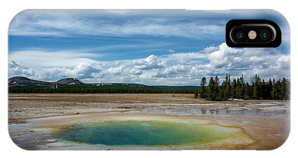 IPhone Case featuring the photograph Yellowstone Colors #12 by Scott Read